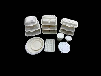 Hot sale biodegradable ecological disposable plates making machine